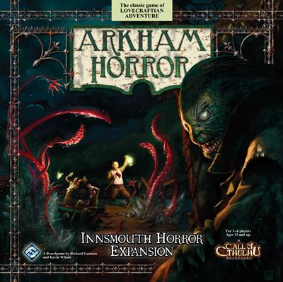 Arkham Horror: Innsmouth Horror Board Game