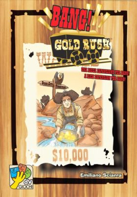 Bang! Gold Rush Board Game
