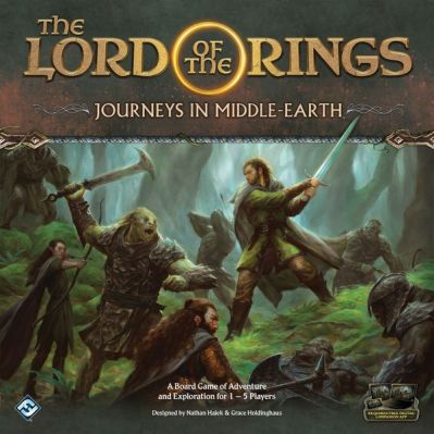 Lord of the Rings: Journeys in Middle Earth Board Game