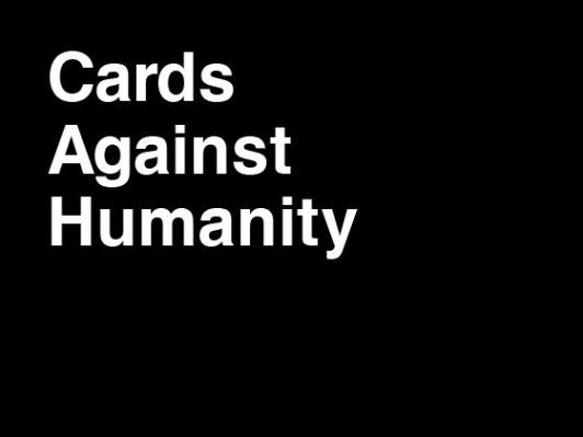 Cards Against Humanity Board Game
