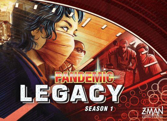Pandemic Legacy: Season 1 Board Game