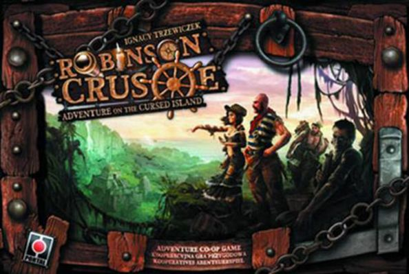 Robinson Crusoe: Adventures on the Cursed Island Board Game