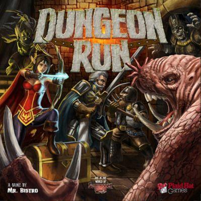 Dungeon Run Board Game