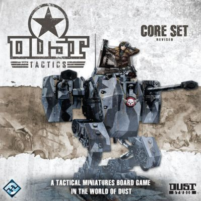 Dust Tactics: Revised Core Set Board Game