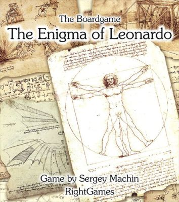The Enigma of Leonardo Board Game