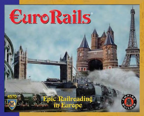 Eurorails Board Game