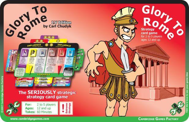 Glory to Rome Board Game