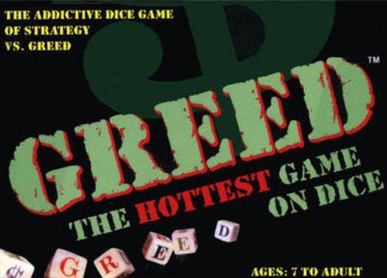 Greed Board Game