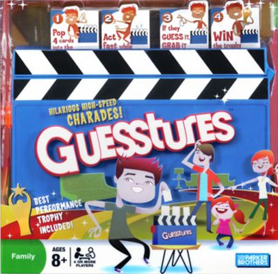 Guesstures Board Game
