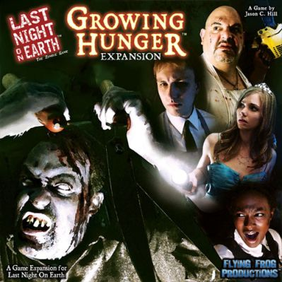 Last Night on Earth: Growing Hunger Board Game