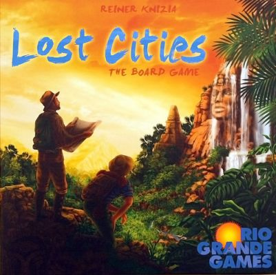 Lost Cities: The Board Game Board Game