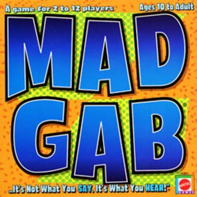 Mad Gab Board Game