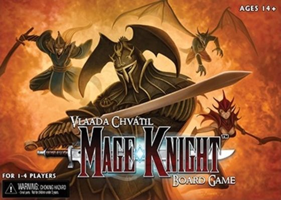 Mage Knight: Board Game Board Game
