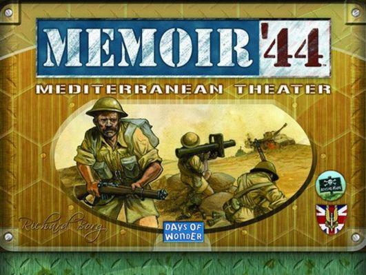 Memoir '44: Mediterranean Theater Board Game