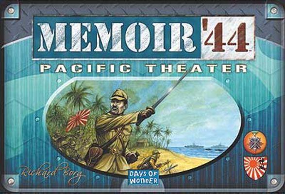 Memoir '44: Pacific Theater Board Game