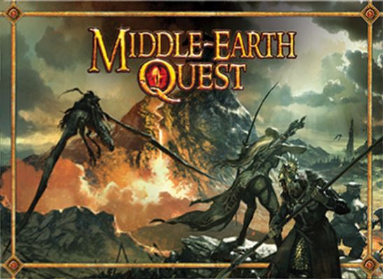 Middle Earth Quest Board Game