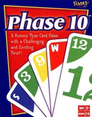 Phase 10 Board Game