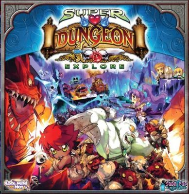 Super Dungeon Explore Board Game