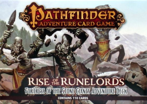 Pathfinder Adventure Card Game: Rise of the Runelords – Fortress of the Stone Giants Adventure Deck Board Game