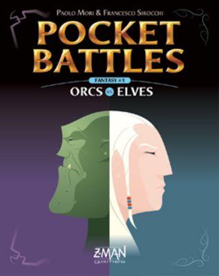 Pocket Battles: Orcs vs. Elves Board Game