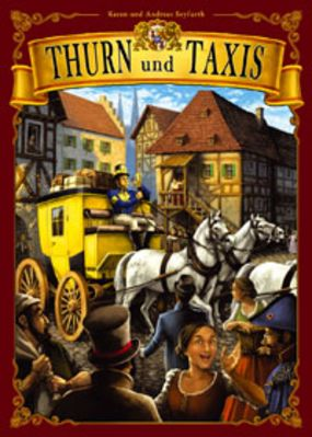 Thurn & Taxis Board Game