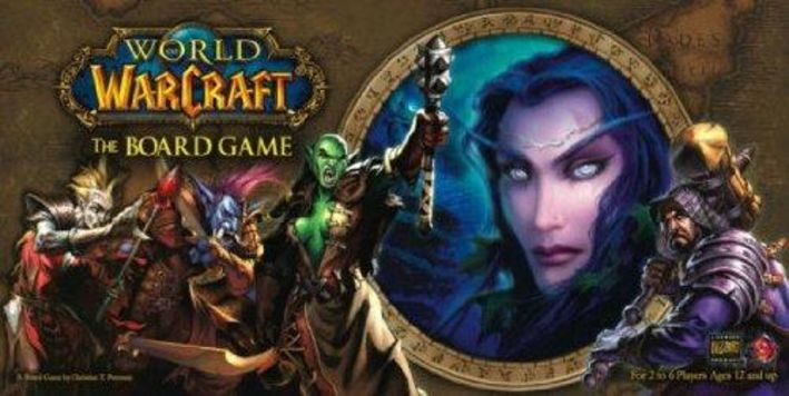 World of Warcraft: The Board Game Board Game
