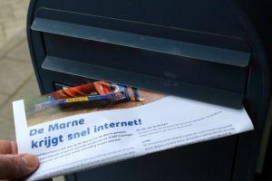 Aanleg snel internet in De Marne kan van start