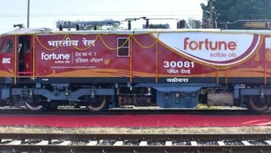 Photo of Western Railway starts locomotives branding to improve non-freight revenue