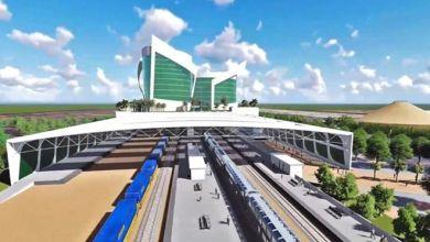 Photo of Gandhinagar railway station, with 5-star hotel above rail tracks, to be world-class! Piyush Goyal reviews work