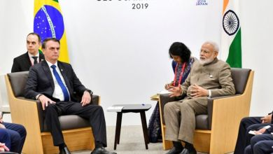 Photo of India, Brazil to sign 20 pacts during Bolsonaro visit to elevate strategic partnership