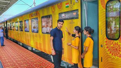 Photo of Chennai–Madurai Tejas Express: Passengers can now enjoy 500 hours of infotainment