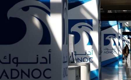 ADNOC sign