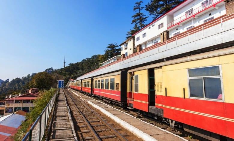 Vistadome train on Kalka-Shimla route