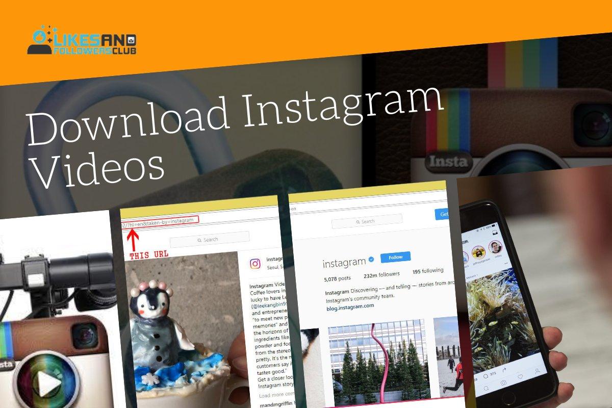 Download Instagram Videos Without Url