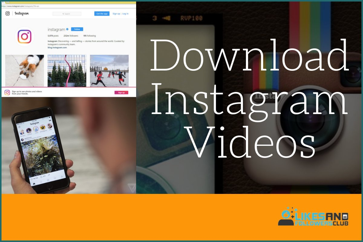 download private instagram videos