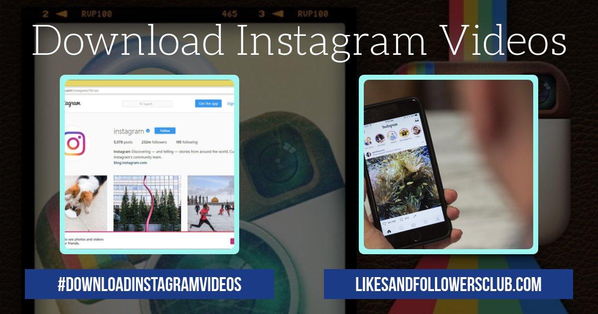 Download Instagram Videos Audio