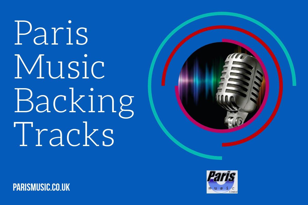 Paris Music backing tracks