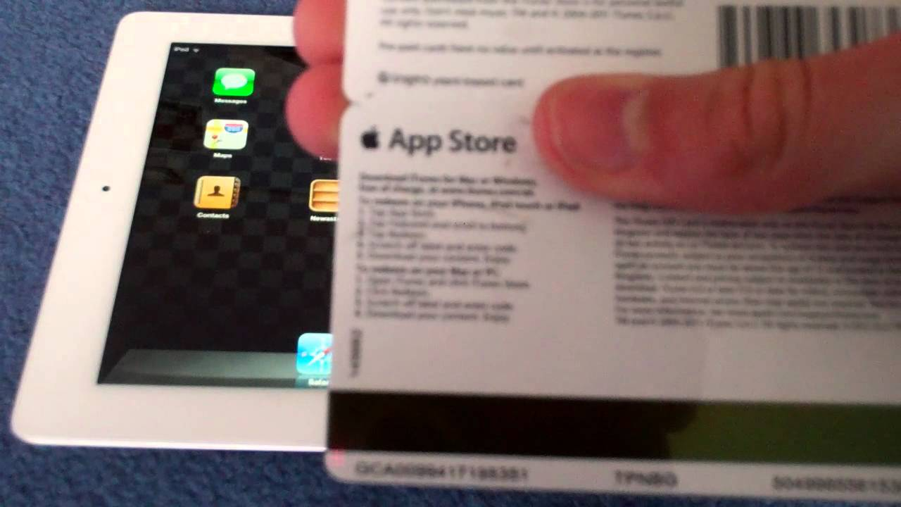 How To Top Up Itunes Card