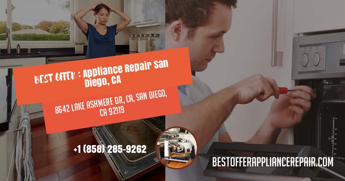 Appliance Repair East County San Diego
