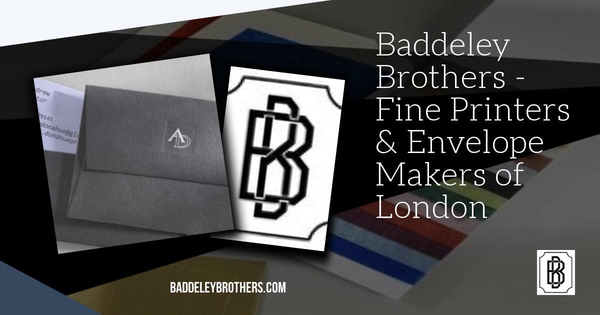Baddeley brothers London