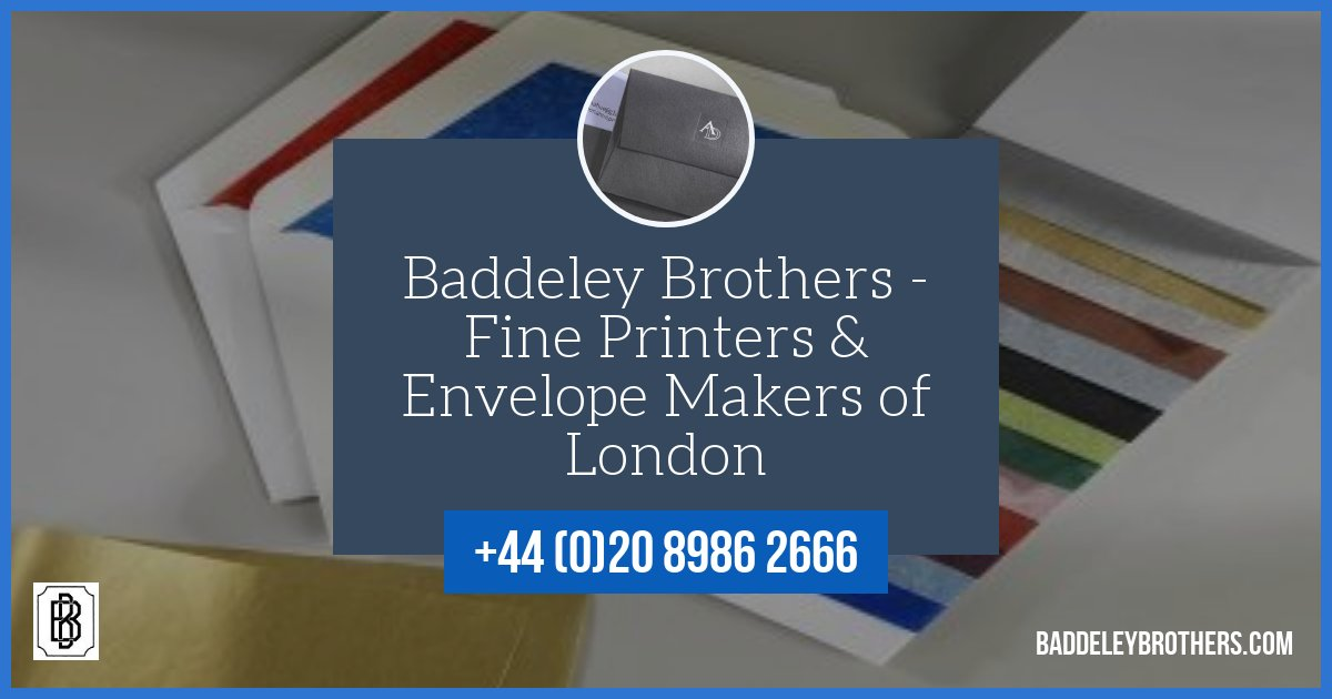 Baddeley Brothers Printers