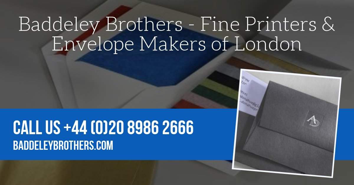 Baddeley brothers London