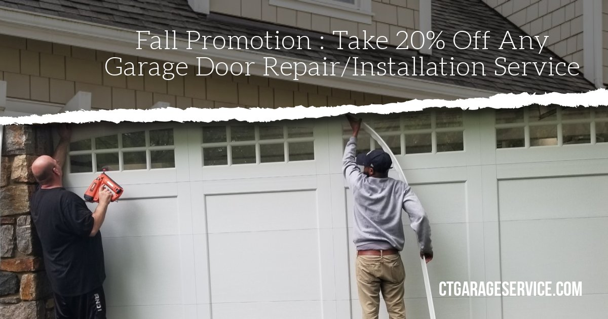 Fairfield Ct Garage Door Repair