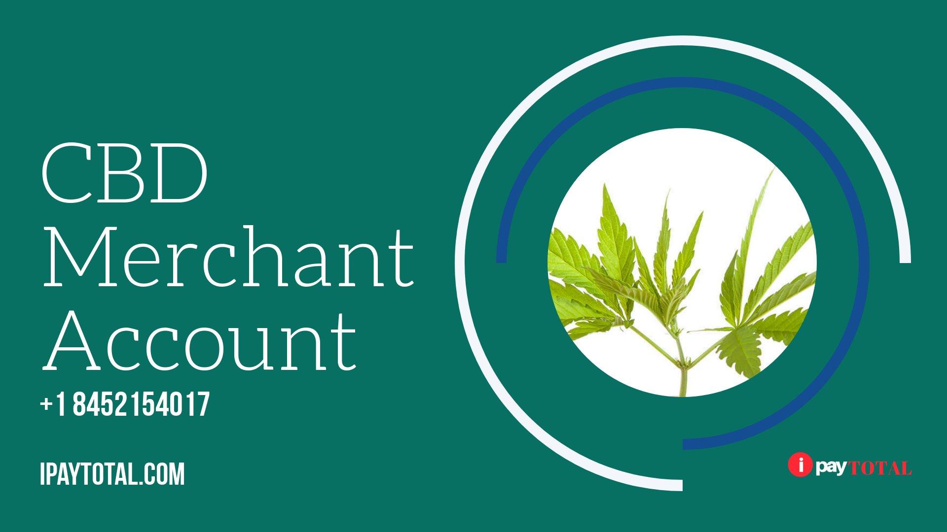 Cbd Oil Merchant Account