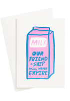 Carte Postale Friendship Milk