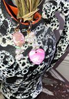 Boucles d'oreille Perles d'eau douce Luv Rose