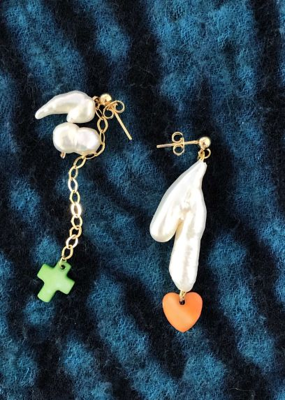 Luv Cruz Freshwater Pearl Earrings
