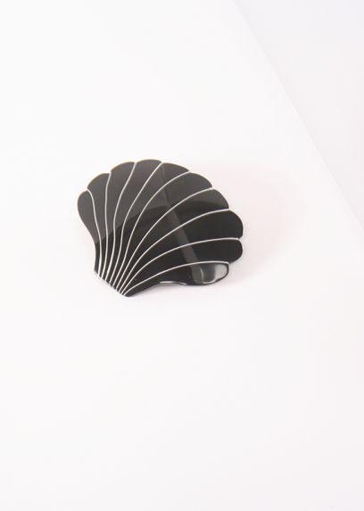 Seashell Hairclip