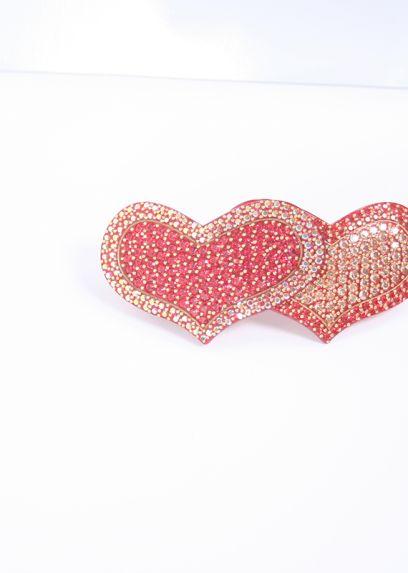 Double Heart Hairclip