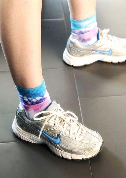 Socquettes Bleues
